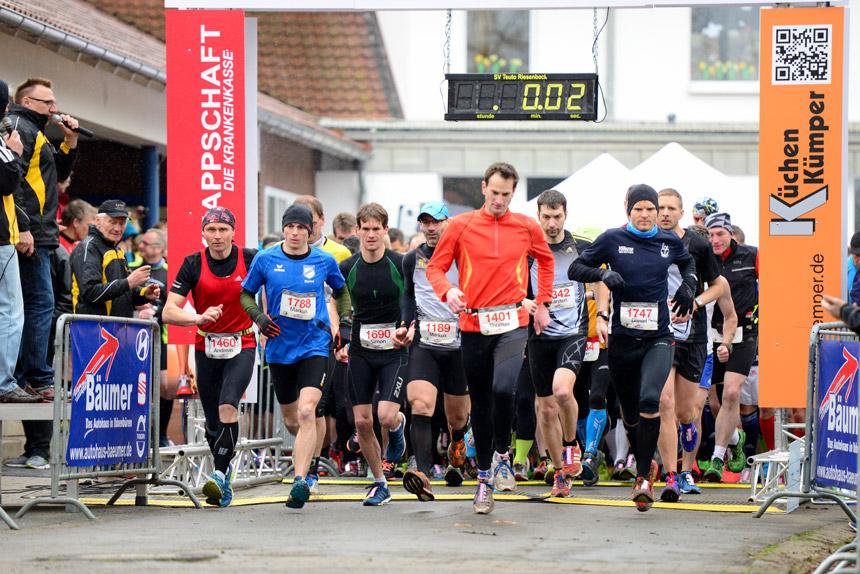 Start des 4. Ibbenbürener Klippenlaufs 2015
