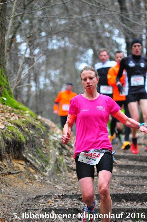 Siegerin Bianca Richter 5. Ibbenbürener Klippenlauf 2016